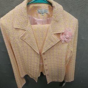 Zoe Ltd Womens suit preteen sz 20 jacket and skirt